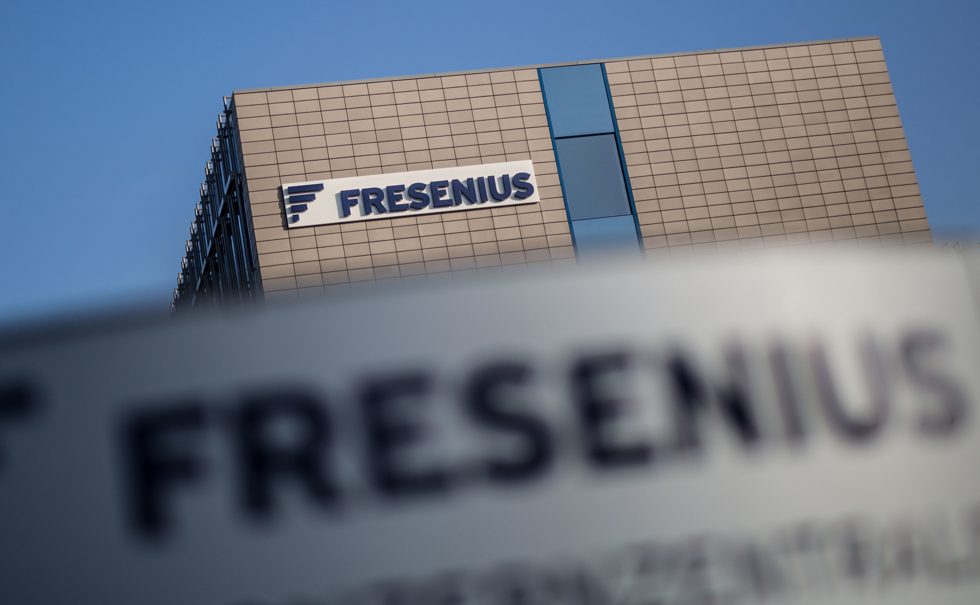 Der Firmensitz von Fresenius in Bad Homburg. Foto: dpa